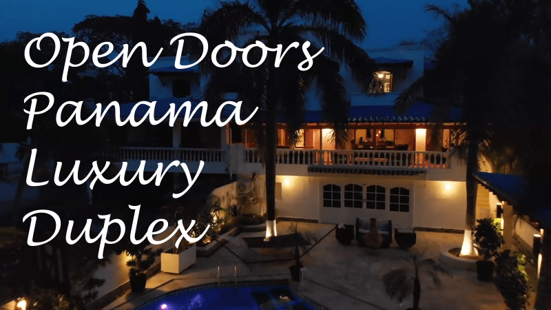 Open-Doors-Panama-Luxury-Duplex-Lucida Handwriting-Text