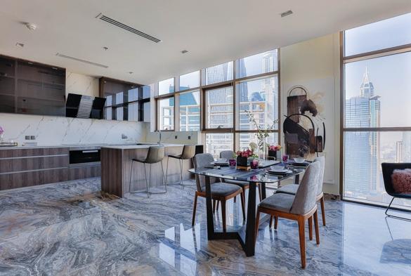 IMEX Real Estate Dubai Marina Penthouse 2
