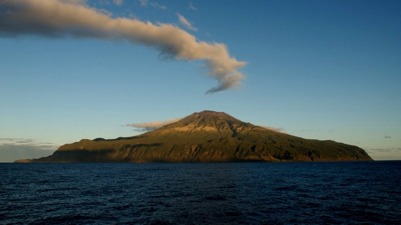 Tristan da Cunha Islands UK View