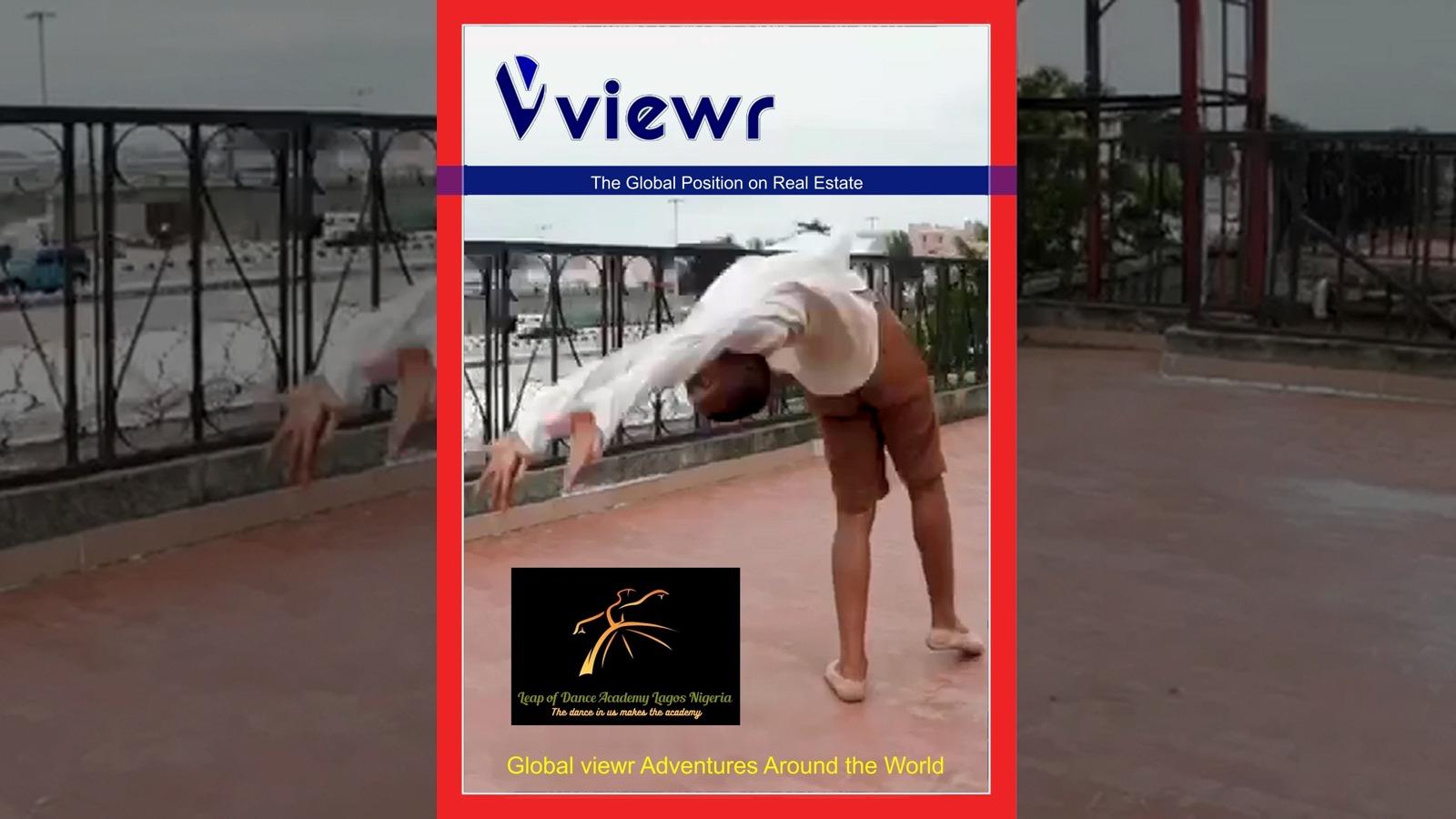 Anthony Mmesoma Madu Leap of Dance on Global viewr Magazine