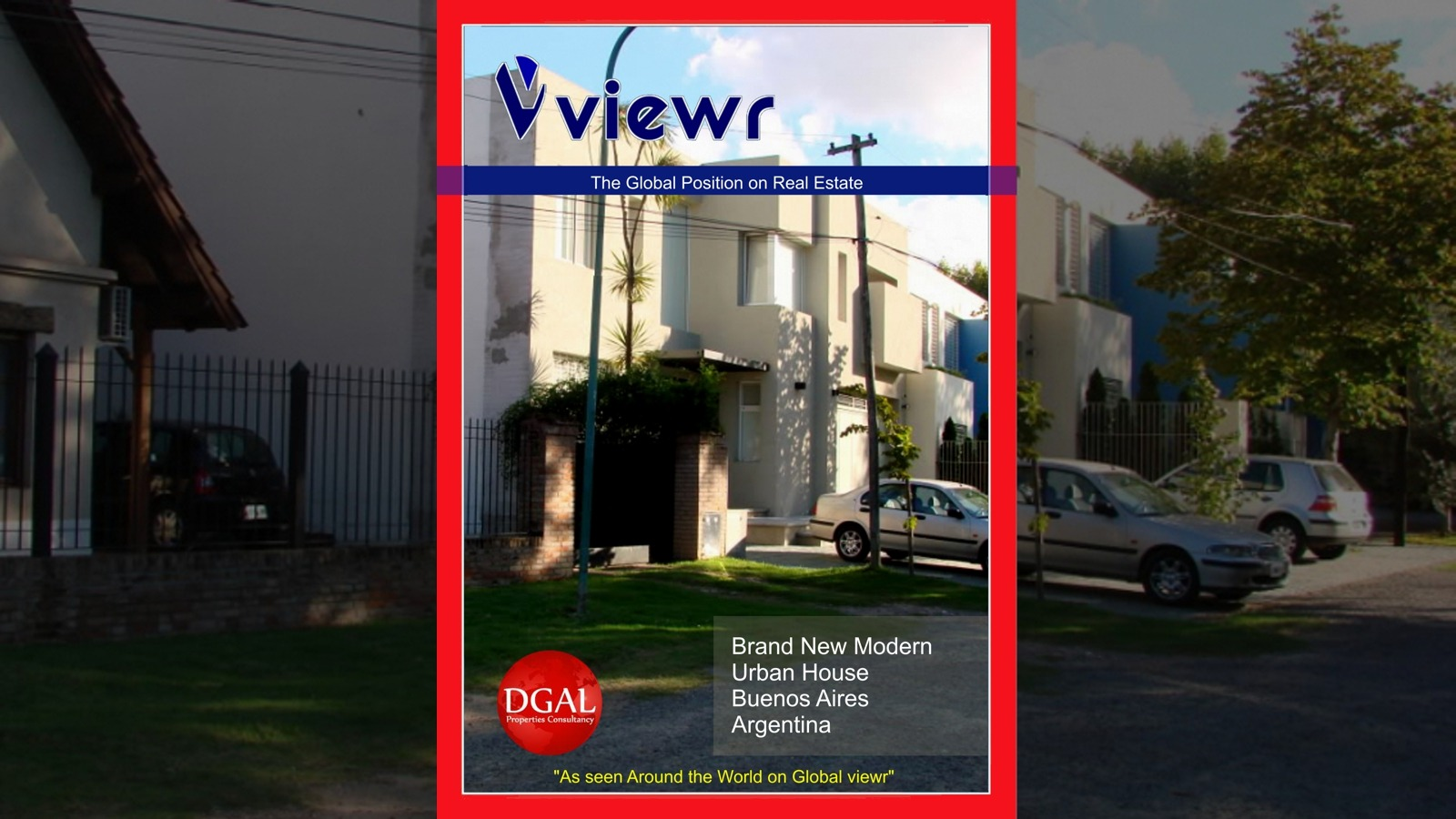 Global viewr Magazine Buenos Aires Argentina House DGAL