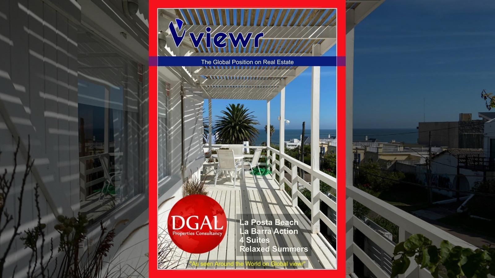 Global viewr Magazine DGAL Properties La Posta Beach Villa