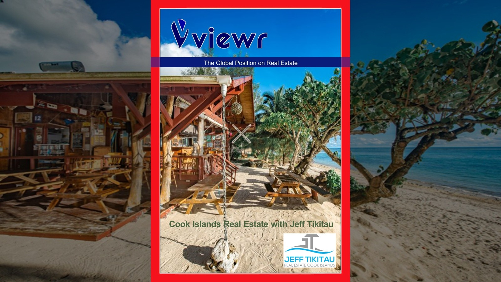 Global viewr Magazine Jeff Tikitau Cook Islands Real Estate