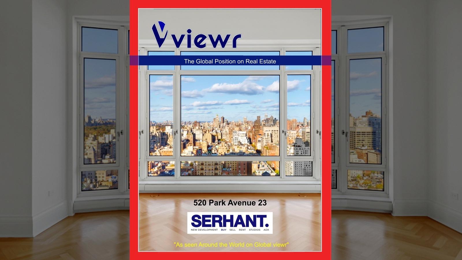 Ryan Serhand on Global viewr Magazine